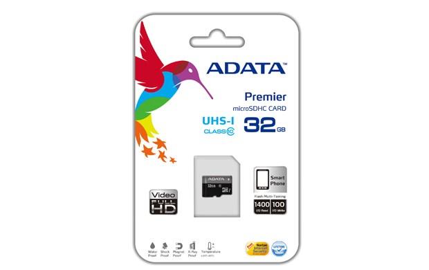 ADATA Micro SDHC karta 32GB UHS-I Class 10, Premier
