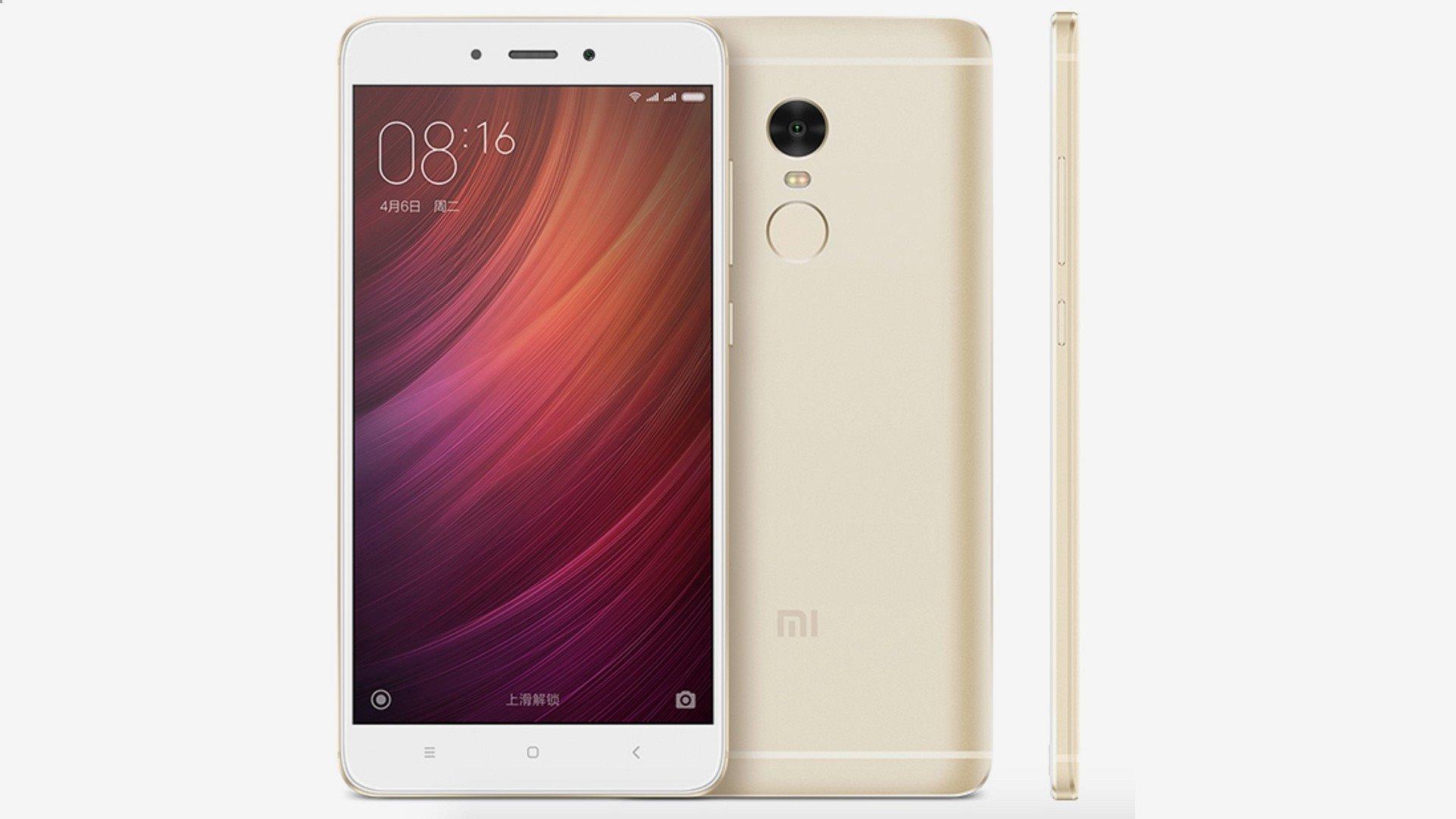 Xiaomi Redmi Note 4 4GB/64GB Global Gold /Zlatá PODPORUJE CZ LTE NA 800 MHZ + 900 MHZ S CZ MENU