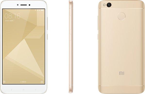 Xiaomi Redmi 4X (3GB/32GB) - b20 Global s CZ LTE Zlatá - Podporuje CZ LTE na 800 Mhz! + Xiaomi Mikey