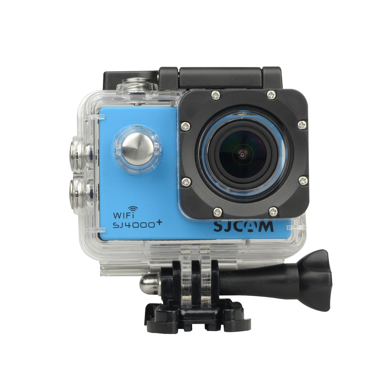 Sportovní kamera SJCAM™ SJ4000 PLUS CZ MENU Barva: Modrá
