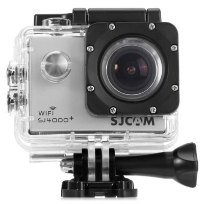 Sportovní kamera SJCAM™ SJ4000 PLUS CZ MENU Barva: Stříbrná