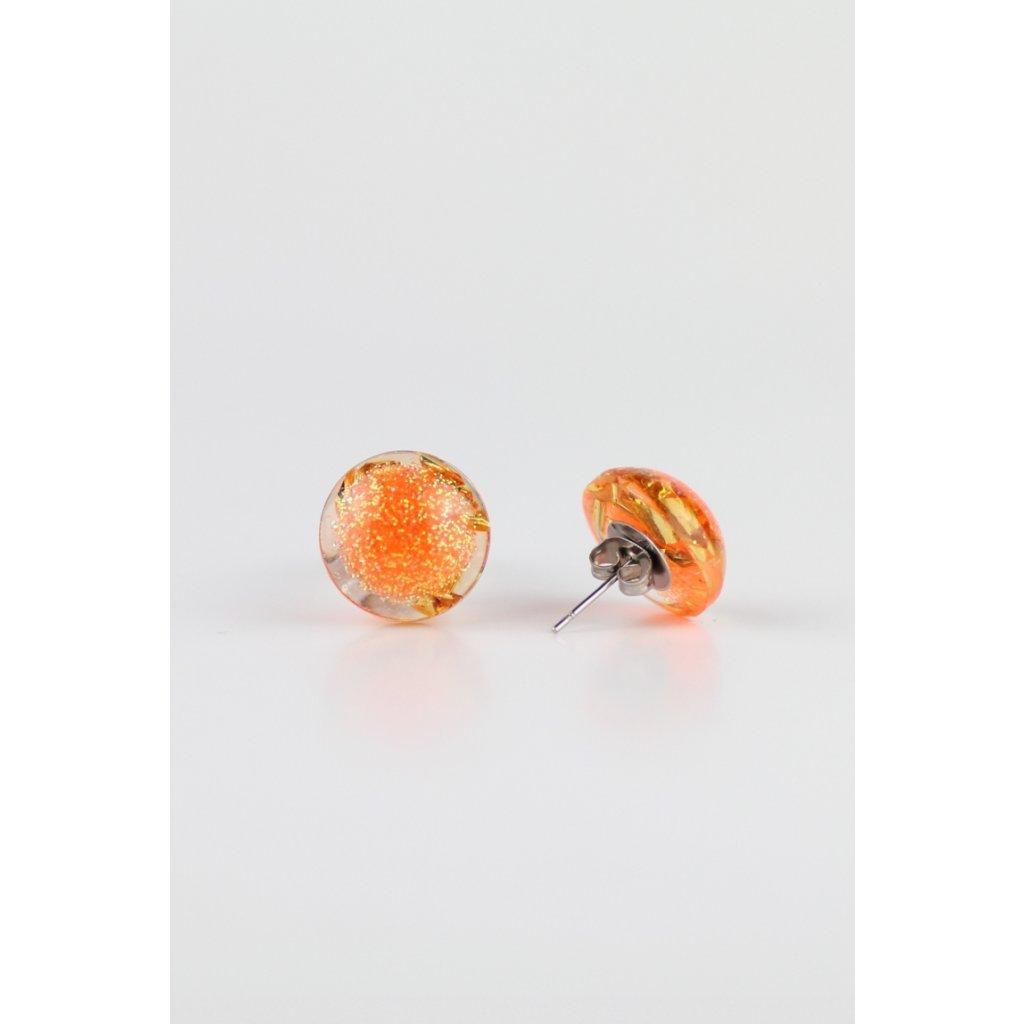 Náušnice Orange 174