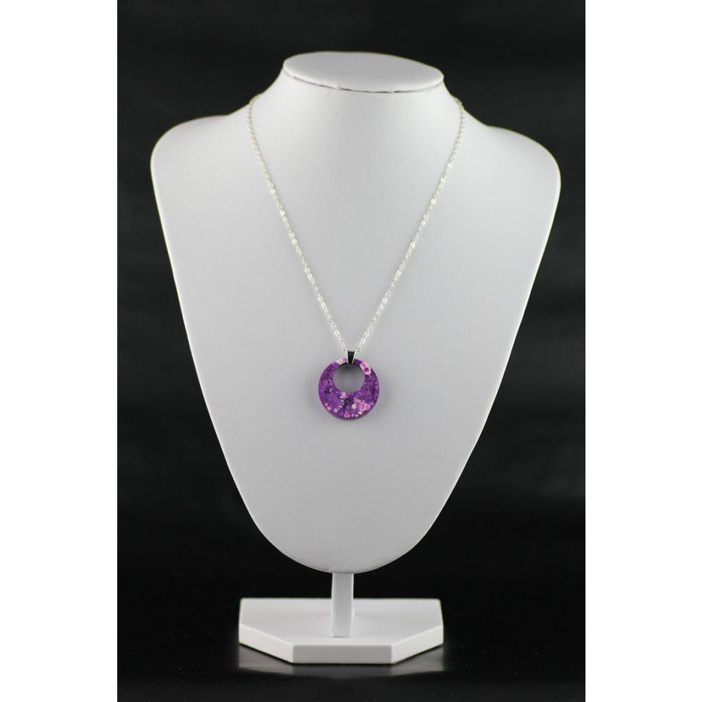 Náhrdelník Lavender 234
