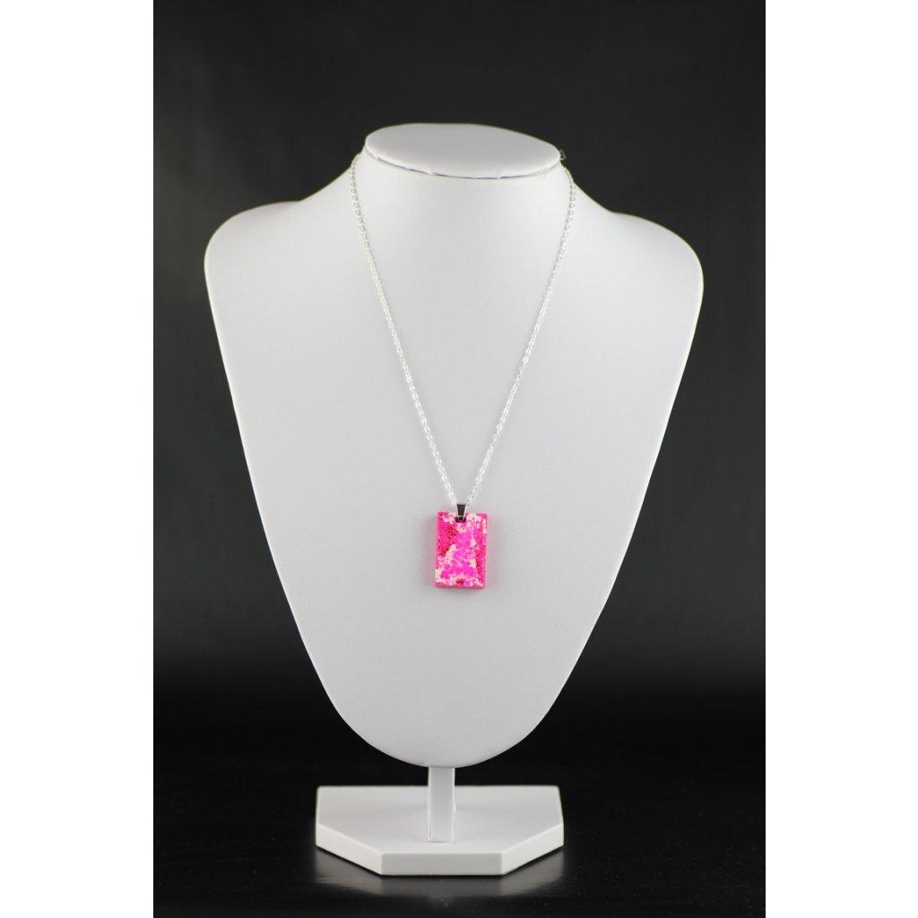 Přívěsek Pink Marble 252