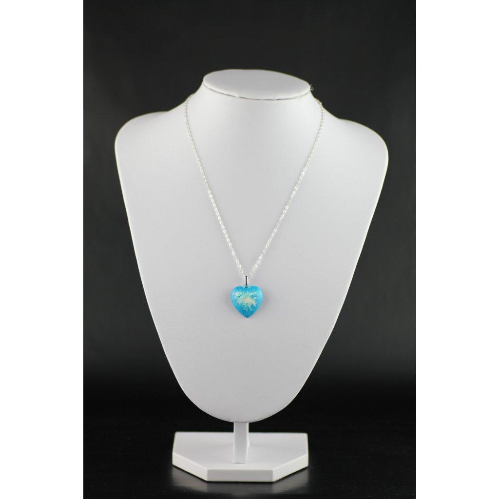 Náhrdelník Blue Heart 309