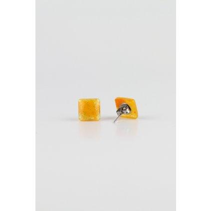 Náušnice Yellow 147