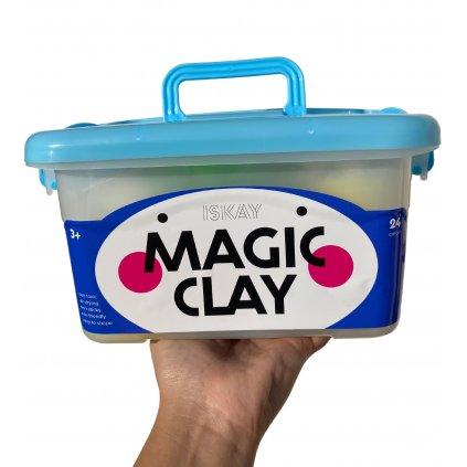 Modelína Magic Clay - sada 24 barev
