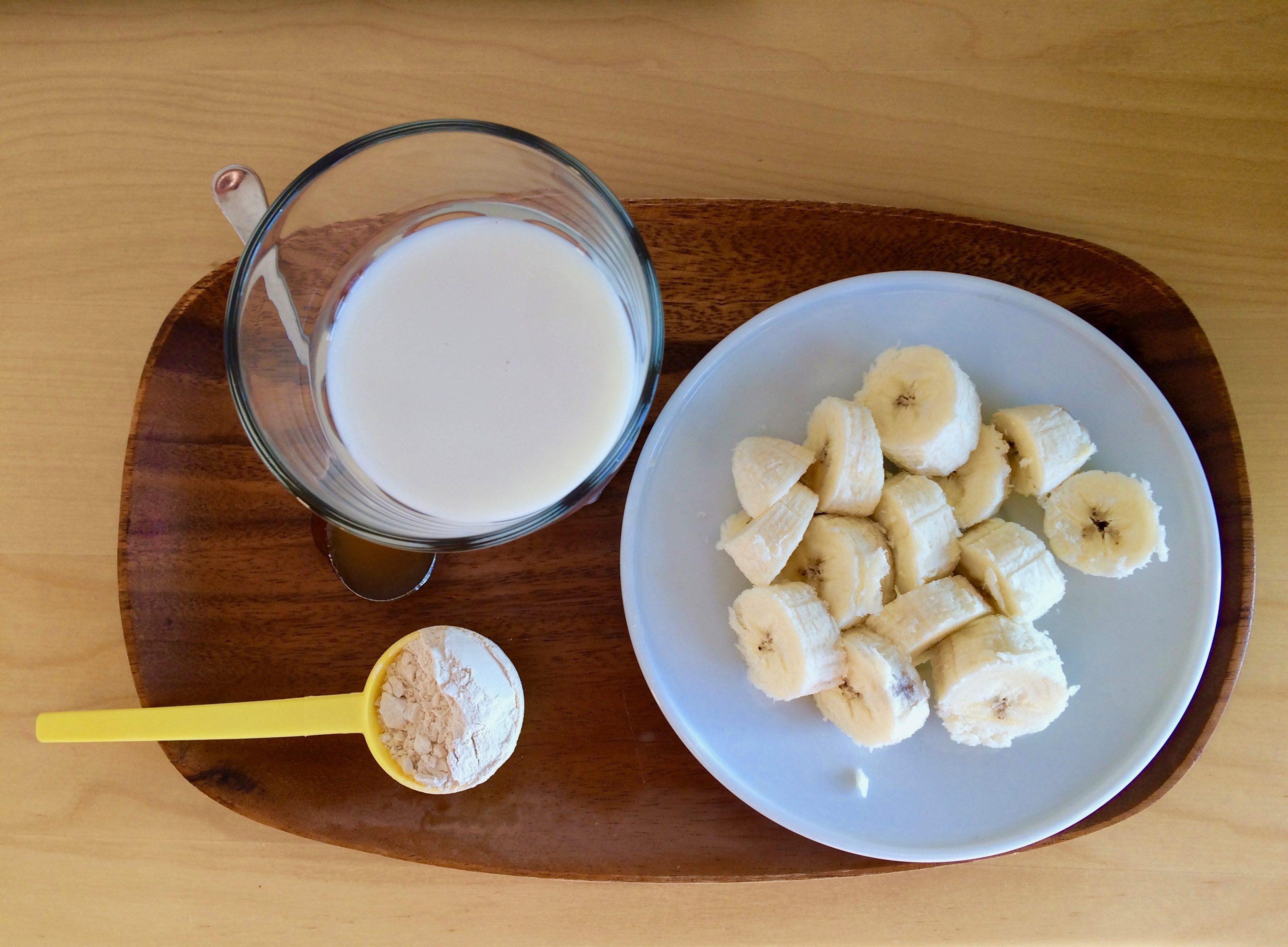Banánovo – proteinové smoothie