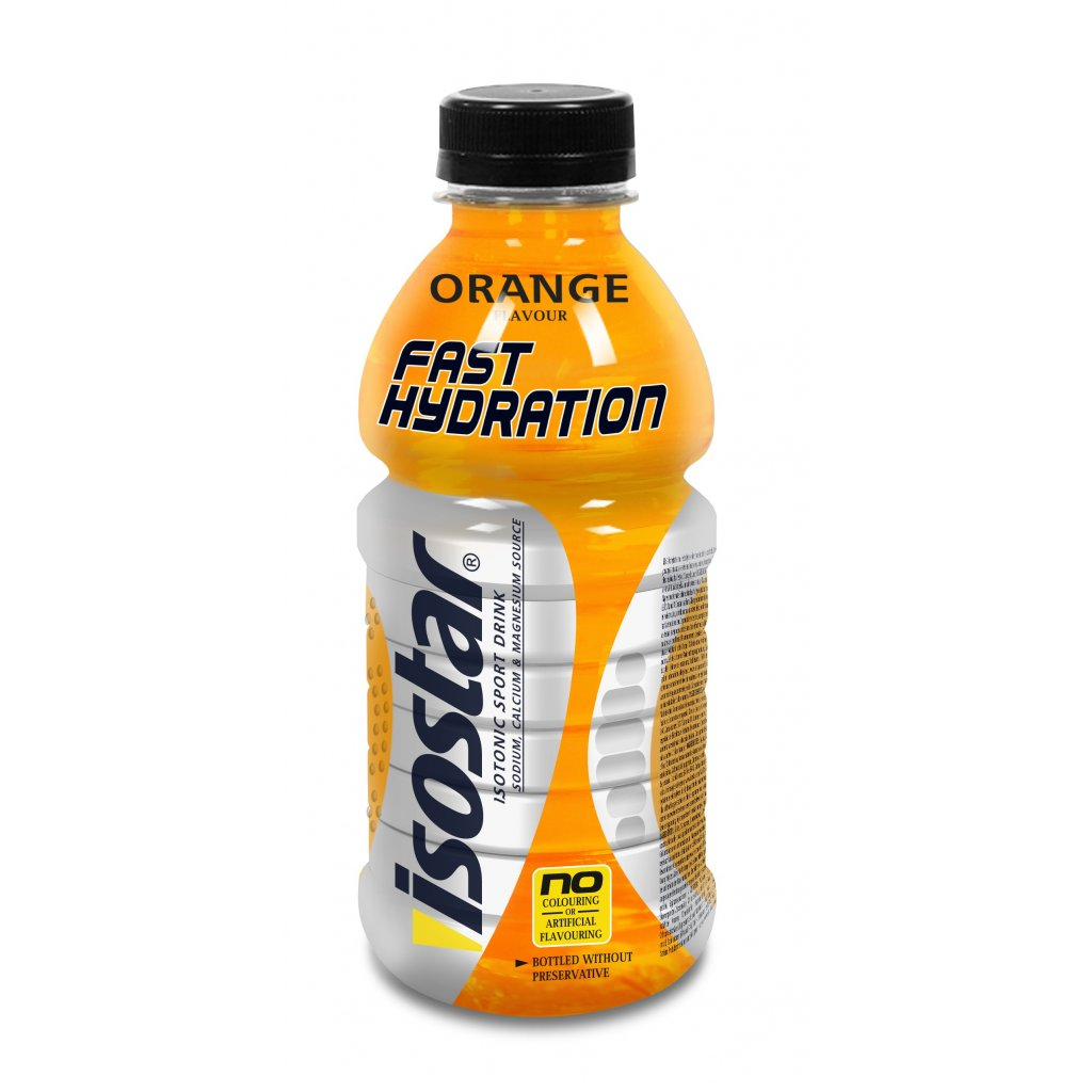PET 500ml Fast Hydratation orange