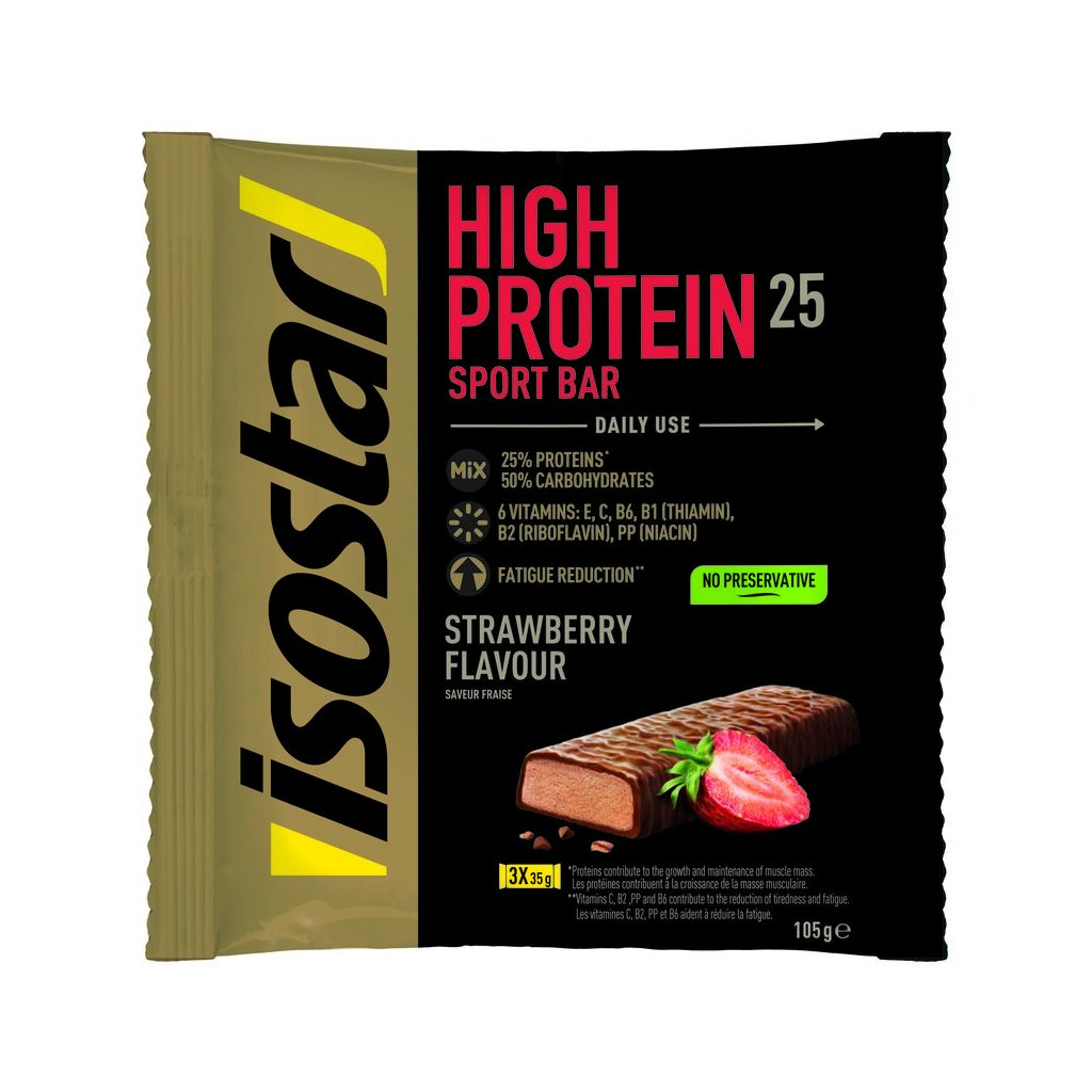 Protein bar 3x35g strawberry