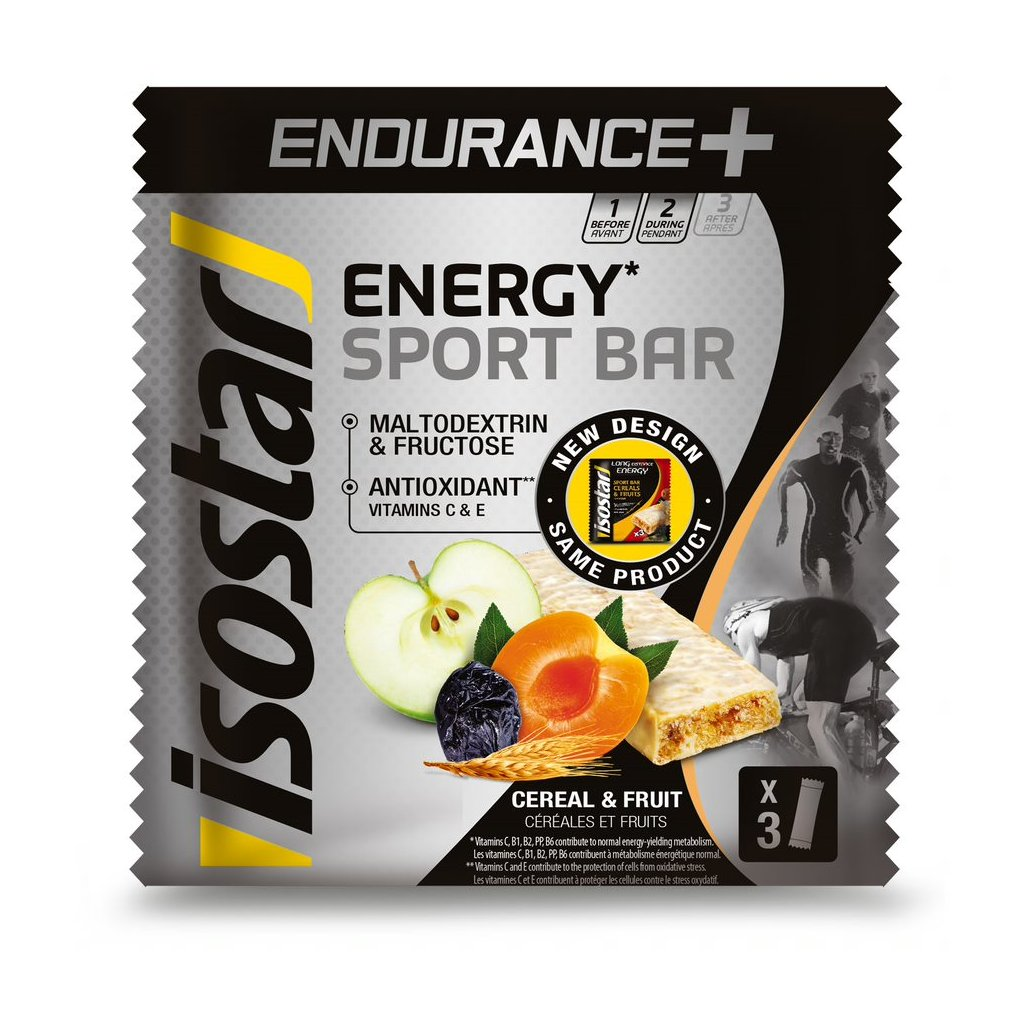 Endurance+ bar 3x35g cereal fruit