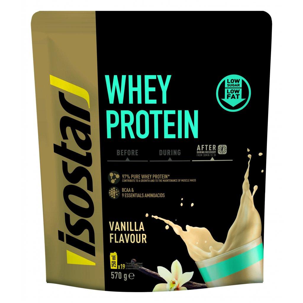 3D Isostar Whey protein saveur vanille Doypack 570 g ENG FR ES NL DE IT 9 CMJN 300dpi