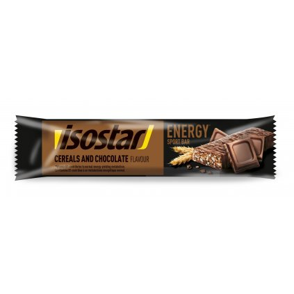 Isostar High Energy chocolat 35g FR DE SP NL Maquette 3D