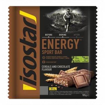 Barres Energy Sport Chocolat (3 barres)