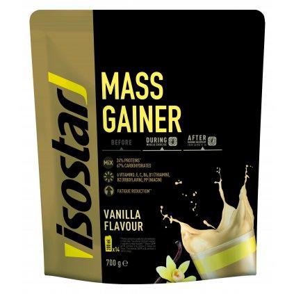 3D Isostar Mass gainer saveur Vanille Doypack 700 g ENG FR ES NL DE IT 7 CMJN 300dpi