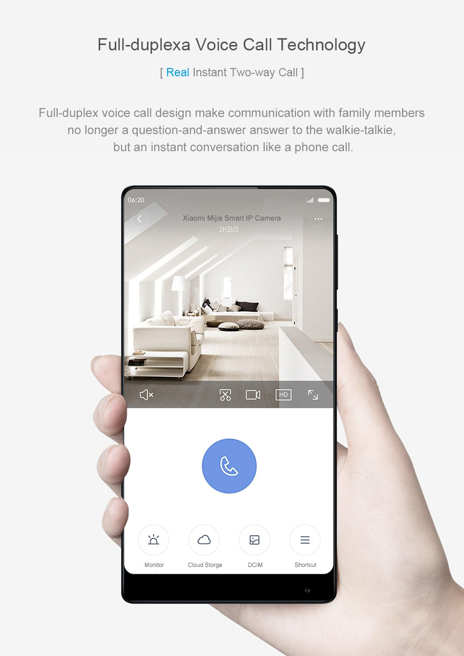 Xiaomi Mi Home Security Camera Basic 1080p cena ip online aplikace telefon