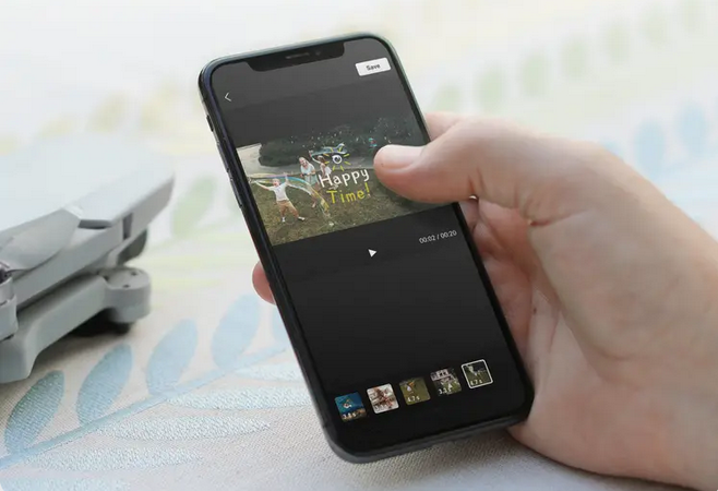 Dron DJI Mini 2 (CP.MA.00000312.01) app