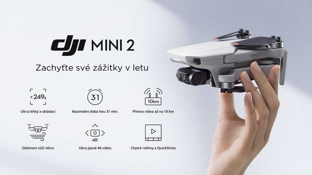 Dron DJI Mini 2 (CP.MA.00000312.01) skladem