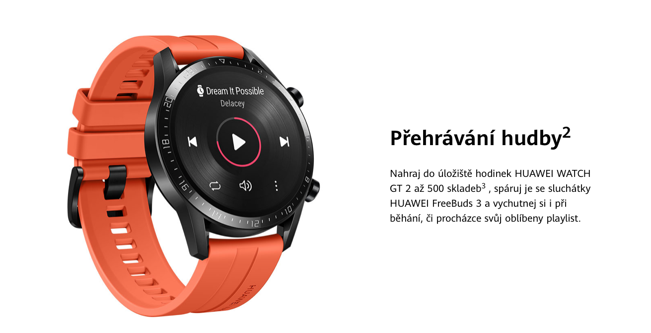 HUAWEI Watch GT 2 Sport Black 46 recenze test