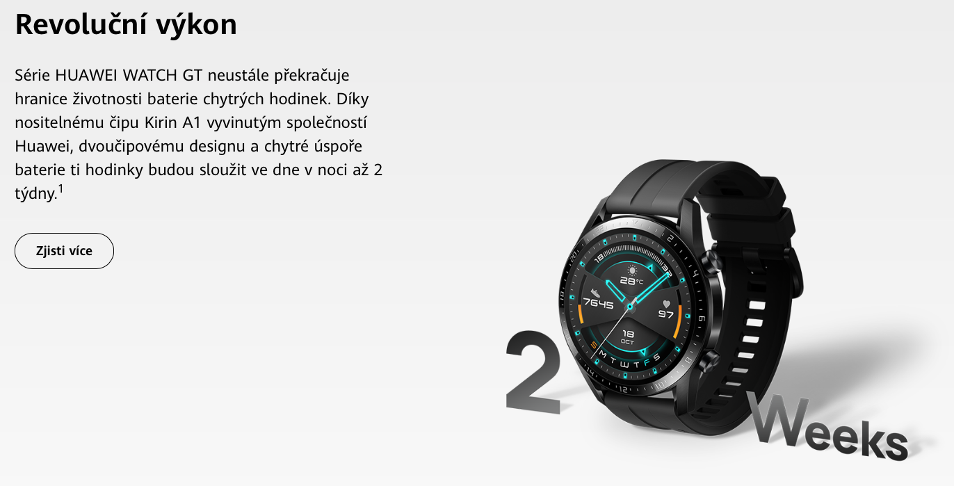 HUAWEI Watch GT 2 Sport Black 46 recenze