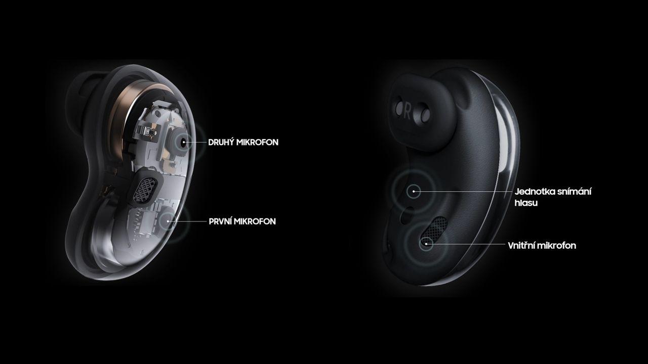Samsung Galaxy Buds Live - bezdrátová sluchátka DOPRAVA ZDARMA