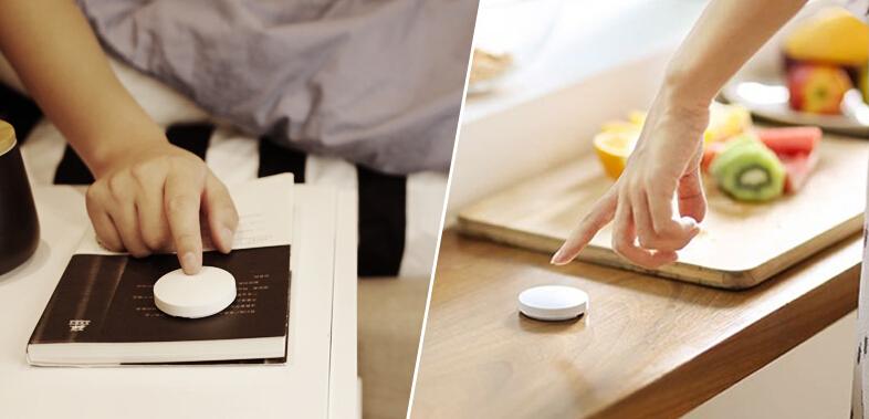 Xiaomi Wireless Switch Chytré dálkové tlačítko zvonek bluetooth bezdrátové čudlík istage xiaomimarket smart