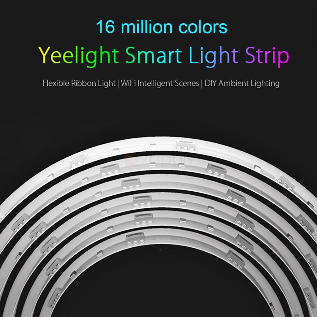 Xiaomi Yeelight Strip - Chytrý barevný Led pásek osvětlení nastavitelné mění barvy istage xiaomimarket bezdrátové heureka