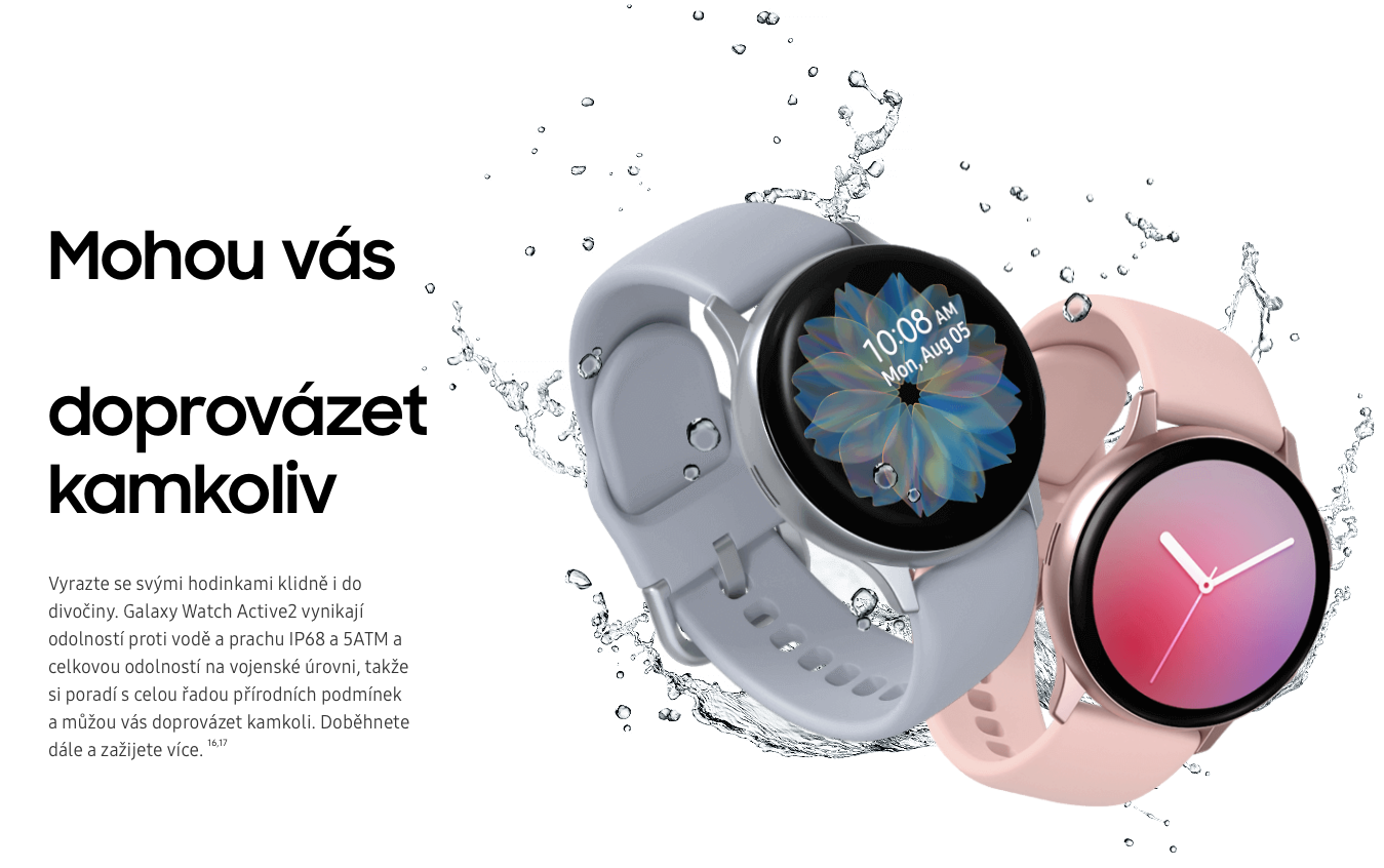 Samsung Galaxy Watch ACTIVE 2 - 44mm odolne vodotese