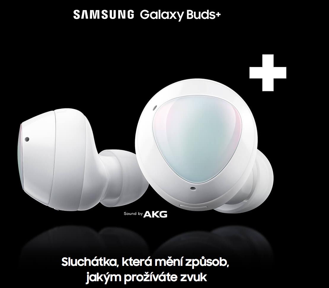 Samsung Galaxy Buds+ SM-R175 recenze