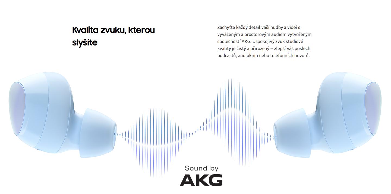Sluchátka Samsung Galaxy Buds+ SM-R175 recenze zvuk