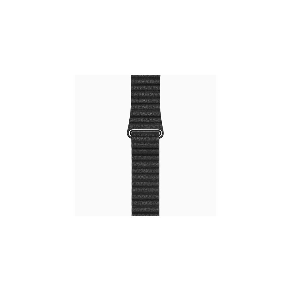 Leather Loop kožený pásek černý pro Apple Watch 42mm
