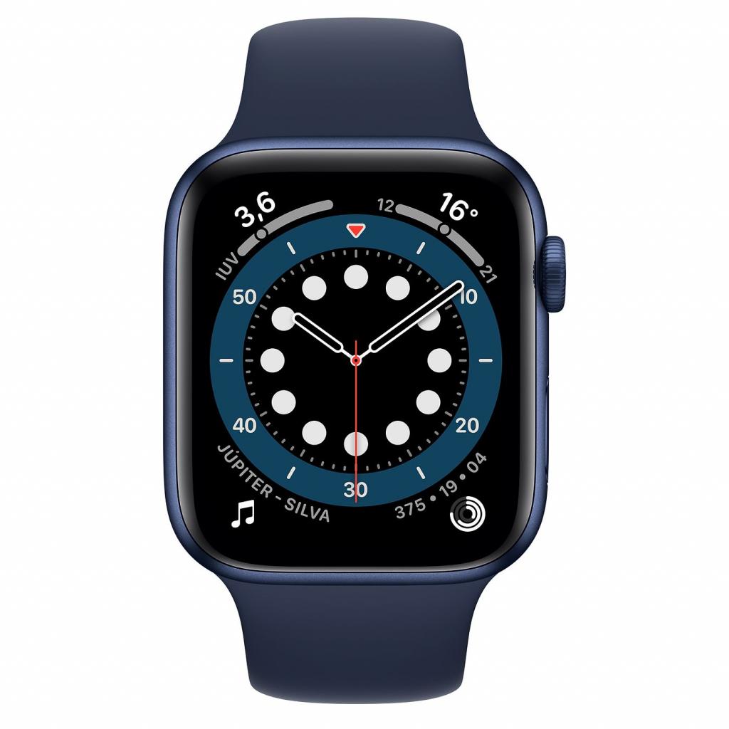 Apple Watch Series 6 44mm hliník se sportovním řemínkem