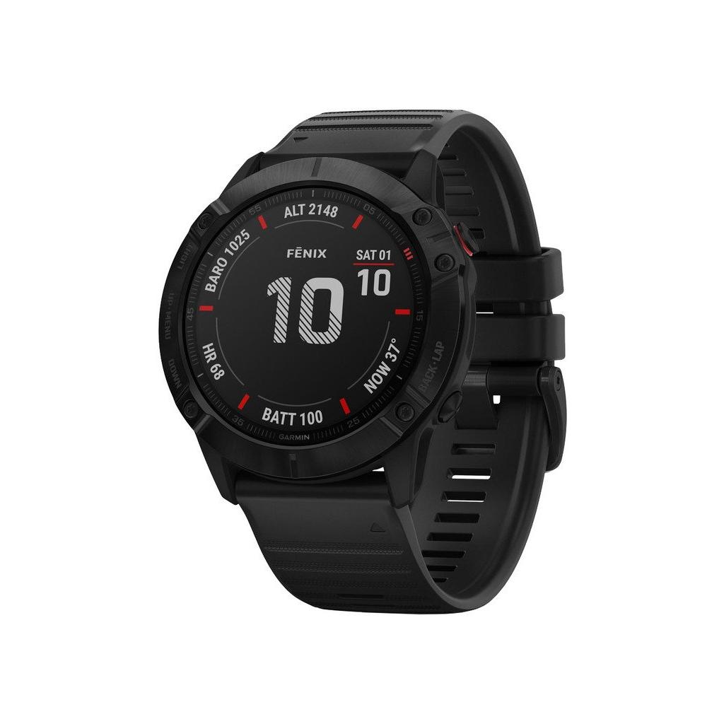 Garmin fenix6X Glass Chytré hodinky 1