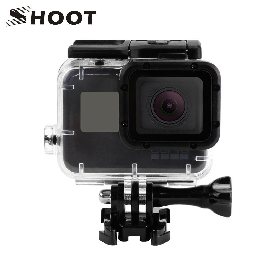 SHOOT Replacement Waterproof Housing Case for GoPro Hero5 Black Camera Go Pro Hero 5 Accessories