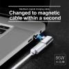 Baseus Type C To Type C Magnetic Elbow Adapter For Macbook Nexus 5X 6P OnePlus 2 1
