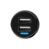 YI Mini Car Charge 24W 48ADual USB Car autonabíječka redukce do zapalovače dash dual dioda xiaomi