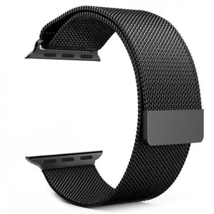 Kovový řemínek Milánský tah pro hodinky Apple Watch 44mm