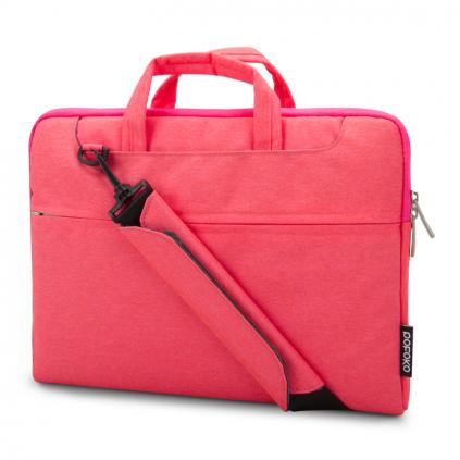 """Elegantní brašna na notebook 13"""" růžová"""