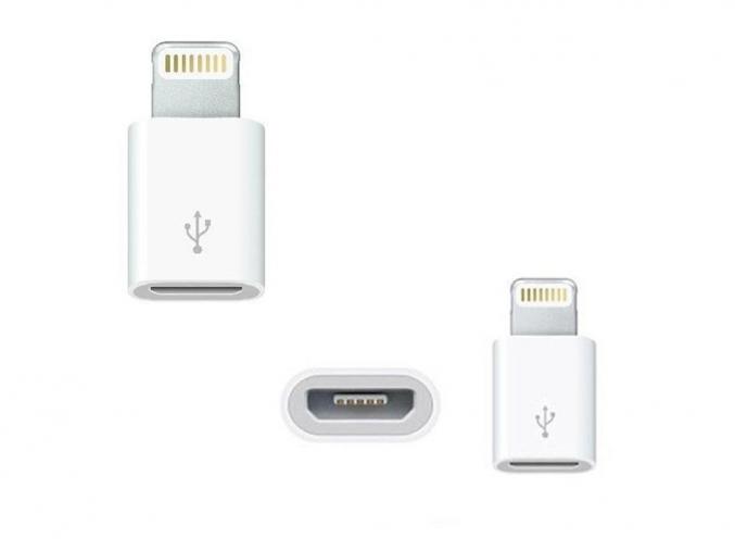 Adaptér Lightning - Micro USB