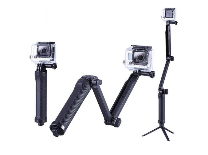 3-way monopod - selfie tyč do každého úhlu