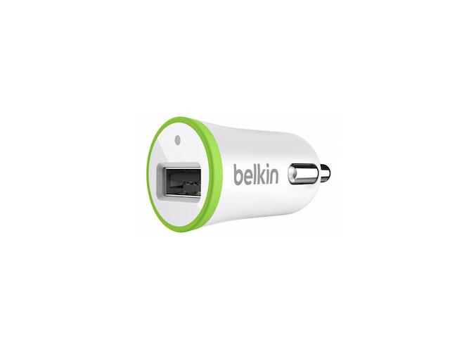 Belkin Auto nabíječka 2.1A BÍLÁ