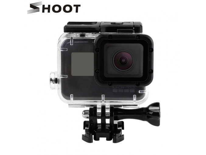 SHOOT Replacement Waterproof Housing Case for GoPro Hero5 Black Camera Go Pro Hero 5 Accessories