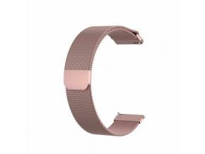 Kovový řemínek Milánský tah pro hodinky Xiaomi Amazfit (Barva Zlatá)