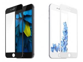 Zaoblená ochranná skleněná 3D folie pro iPhone 7 Plus