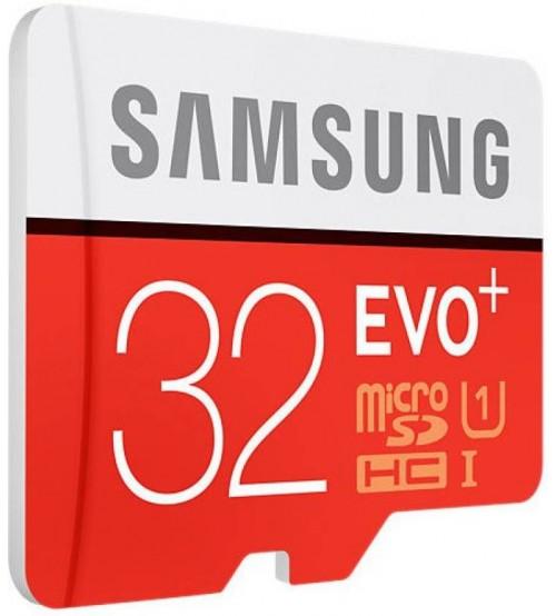 Samsung EVO PLUS microSDHC 32GB UHS-I U1 - Micro SD paměťová karta