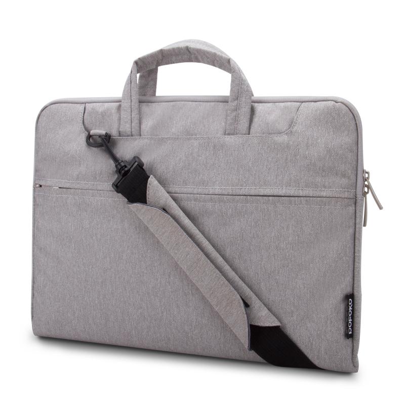 """Elegantní brašna na notebook 13"""" šedá"""