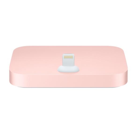 PRO iPhone Lightning Dock - hliníkový stojánek Barva: Růžově zlatý