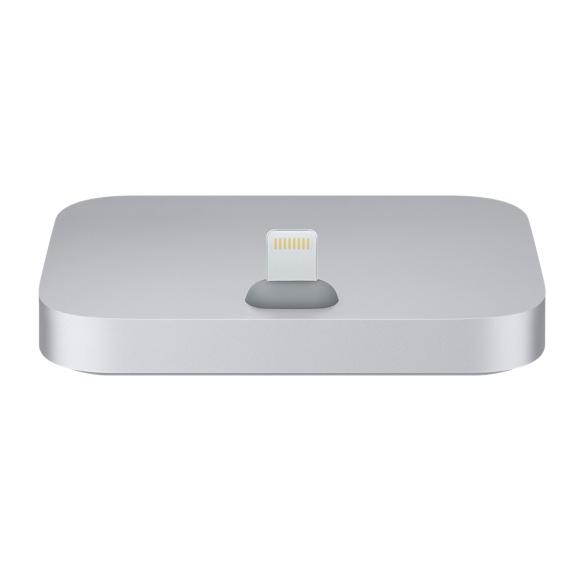 PRO iPhone Lightning Dock - hliníkový stojánek Barva: Šedivý