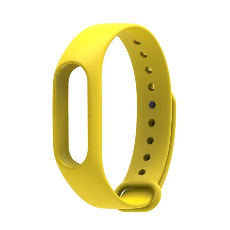 PRO Xiaomi Mi Band Strap 2 - náhradní náramek Barva: Žlutý