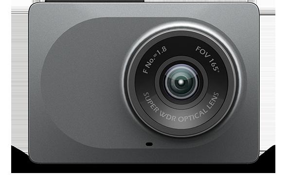 Xiaomi YI Dash Camera Autokamera - šedá Barva: Šedivá